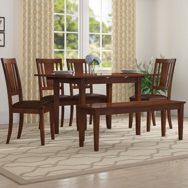 Balfor 6 Piece Extendable Dining Set by Andover Mills