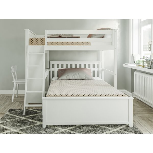 Geyer Twin Over Full L-Shaped Bunk Bed By Harriet Bee by Harriet Bee Purchase