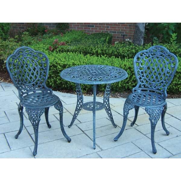 Mississippi 3 Piece Bistro Set by Oakland Living