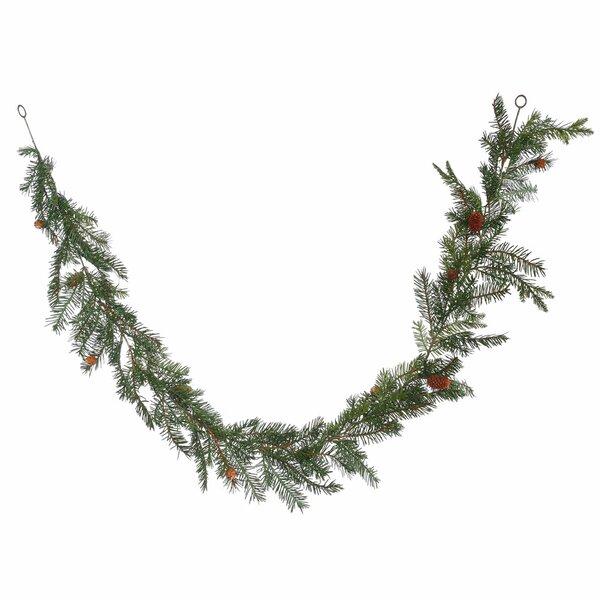 Douglas Fir Artificial Christmas Garland Unlit by Alcott Hill