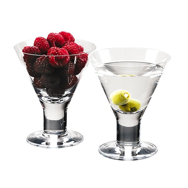 Caprice Martini Glass (Set of 4) by Badash Crystal