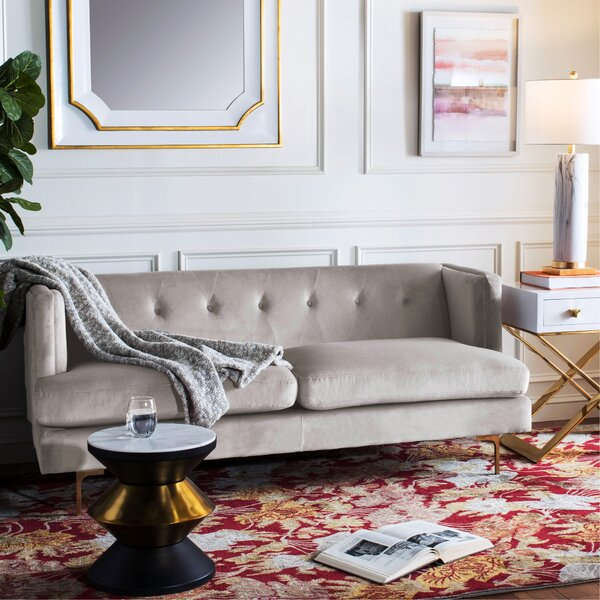 Dowdle Diamond Tufted Sofa by George Oliver