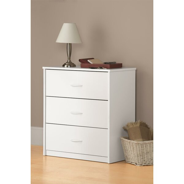 Ensminger 3 Drawer Chest by Ebern Designs