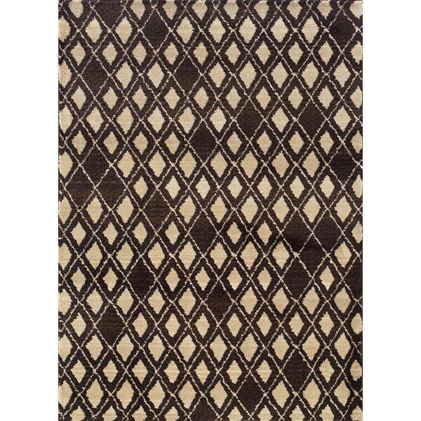 Feltner Brown/Ivory Area Rug by Brayden Studio
