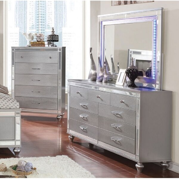 Havana 9 Drawer Dresser by Everly Quinn