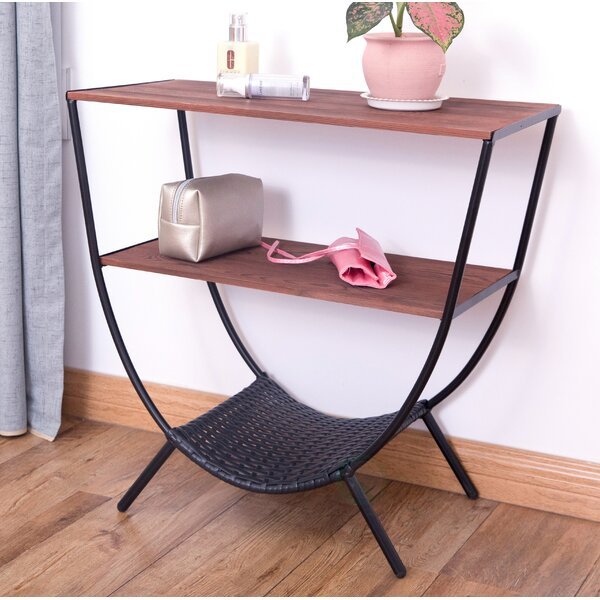 Stamper Console Table With 3 Shelves By Williston Forge