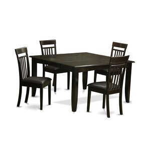 Parfait 5 Piece Dinning Set by East West Furniture