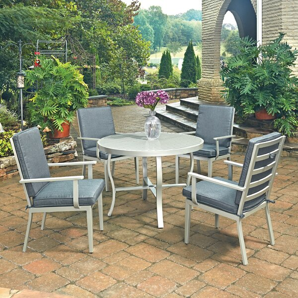 Dinan 5 Piece Dining Set by Red Barrel Studio