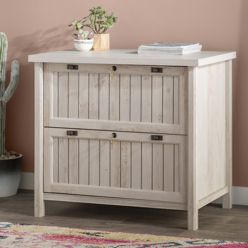 Shelby 2 Drawer Lateral Filing Cabinet