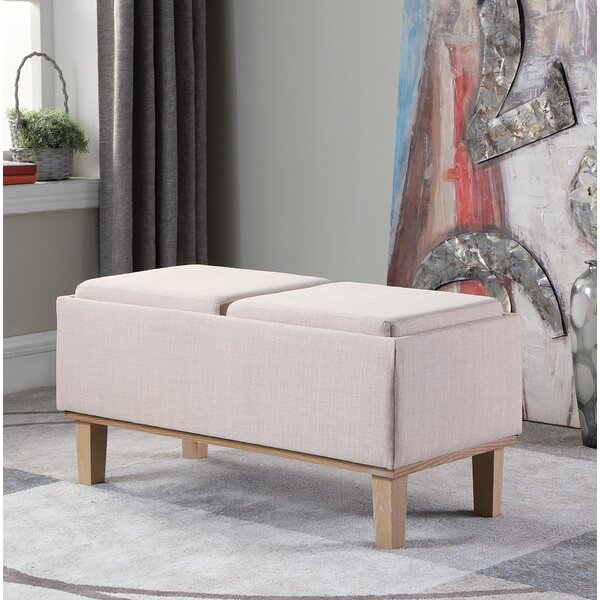 Rafal Upholstered Storage Bench by Ophelia & Co.