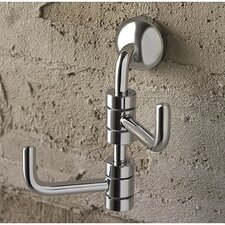 Riviera Swivel Double Wall Hook by Toscanaluce by Nameeks