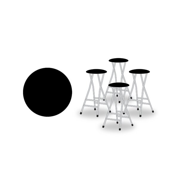 29 Patio Bar Stool with Cushion (Set of 4) by Best of Times