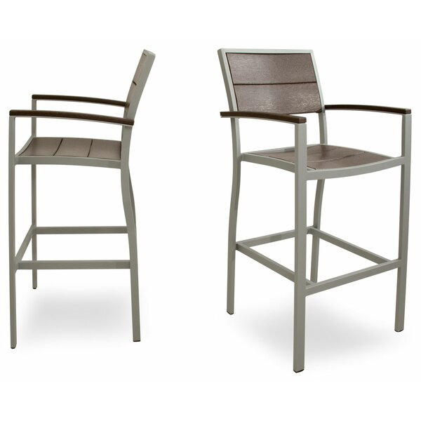 Surf City 46 Patio Bar Stool (Set of 2) by Trex Outdoor
