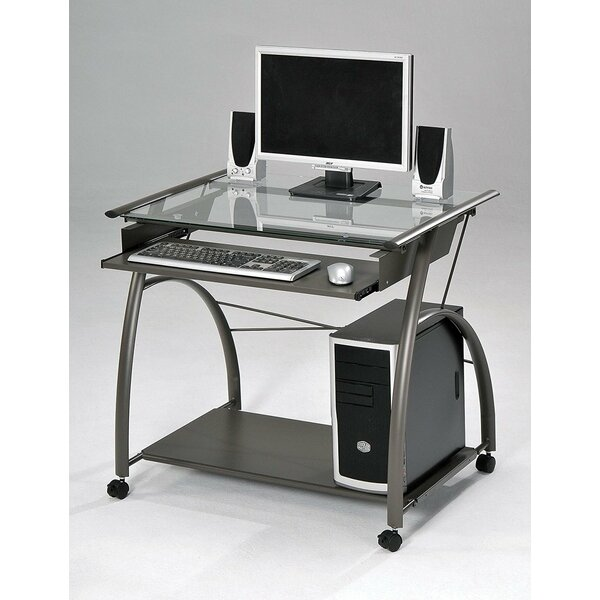 Wilmington Home Office Glass Desk