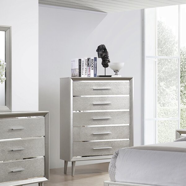 Windle 5 Drawer Chest by House of Hampton