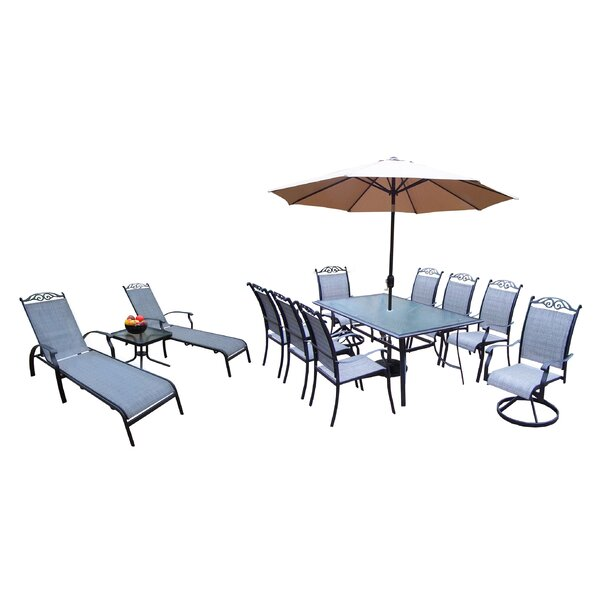 Basile 14 Piece Dining Set by August Grove
