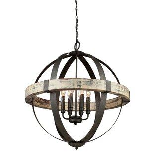 Shopping for Pearl 6-Light Globe  Chandelier By Laurel Foundry Modern Farmhouse