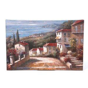 'Tuscany' by Joval Painting Print on Canvas by Trademark Fine Art