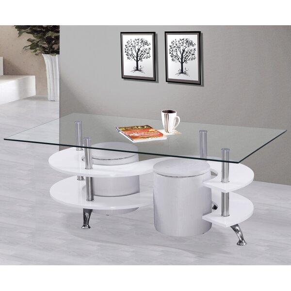Hollhurst 3 Piece Coffee Table Set