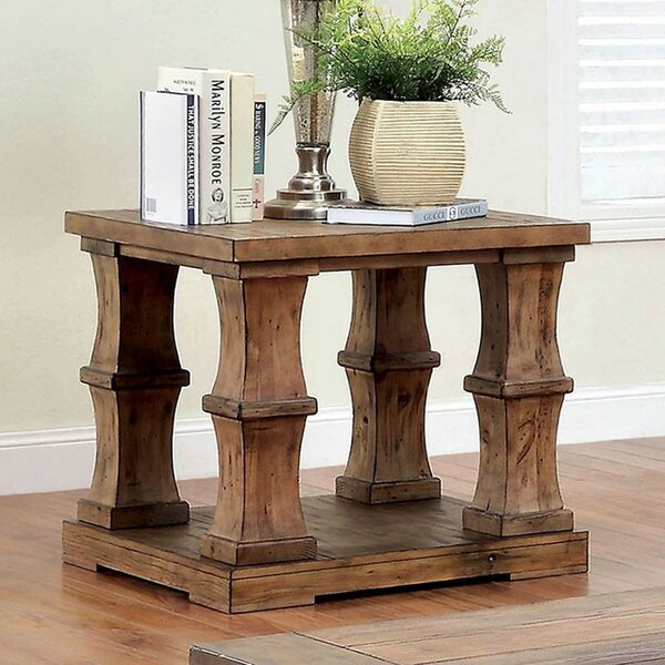 Mcmurtry End Table by Gracie Oaks