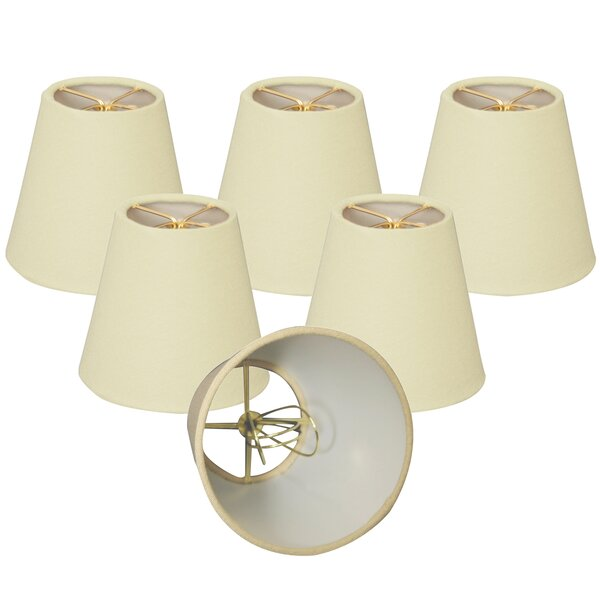 6 Linen Empire Lamp Shade (Set of 6) by Royal Designs