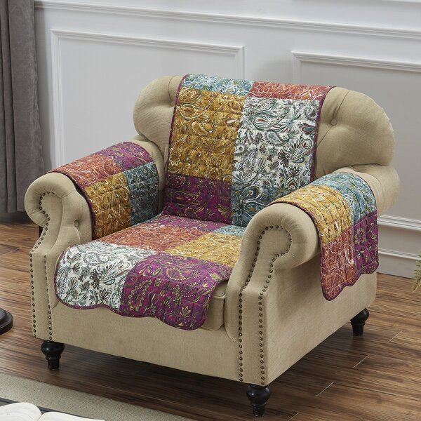 Reich Box Cushion Armchair Slipcover By August Grove