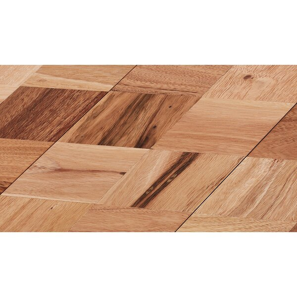 Coterie 5-3/4 Engineered Oak Parquet Hardwood Flooring in Red by IndusParquet