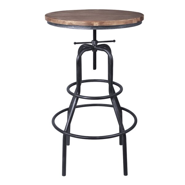 Goodrich Adjustable Pub Table by Williston Forge