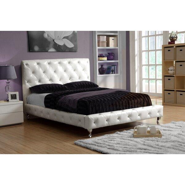 Zaida Upholstered Standard Bed by Rosdorf Park
