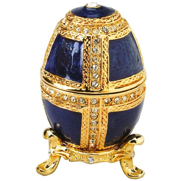 Anya Faberge Style Collectible Enameled Egg by Design Toscano