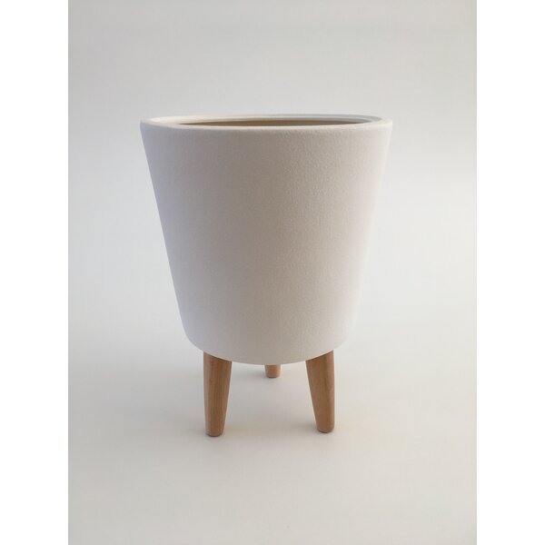 Zackary Ceramic Pot Planter by George Oliver