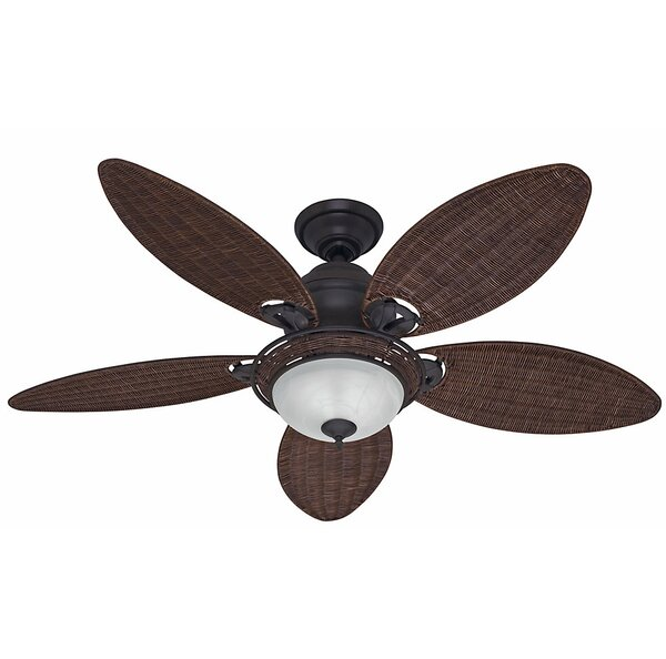 54 Caribbean Breeze 5-Blade Ceiling Fan by Hunter Fan