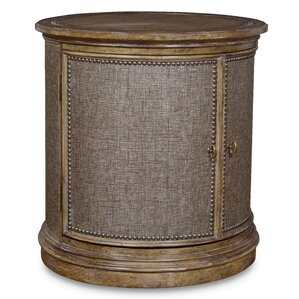Akdeniz Drum End Table by Bay Isle Home