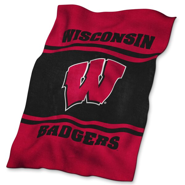 Wisconsin Ultra Soft Throw by Logo Brands