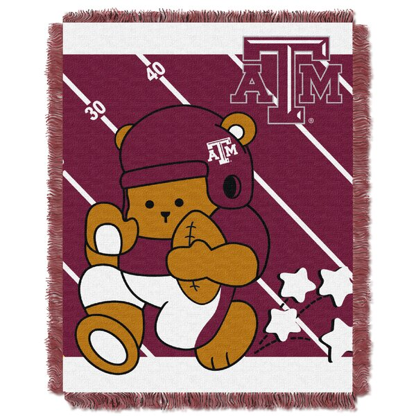 Collegiate Texas A & M Baby Throw by Northwest Co.