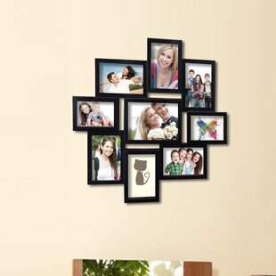9 Opening Decorative Wall Hanging Collage Picture Frame
