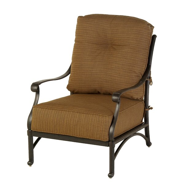 Merlyn Club Patio Chair by Fleur De Lis Living