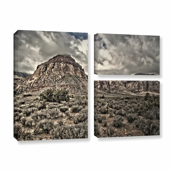 No Distractions by Mark Ross 3 Piece Photographic Print on Gallery Wrapped Canvas Set by ArtWall