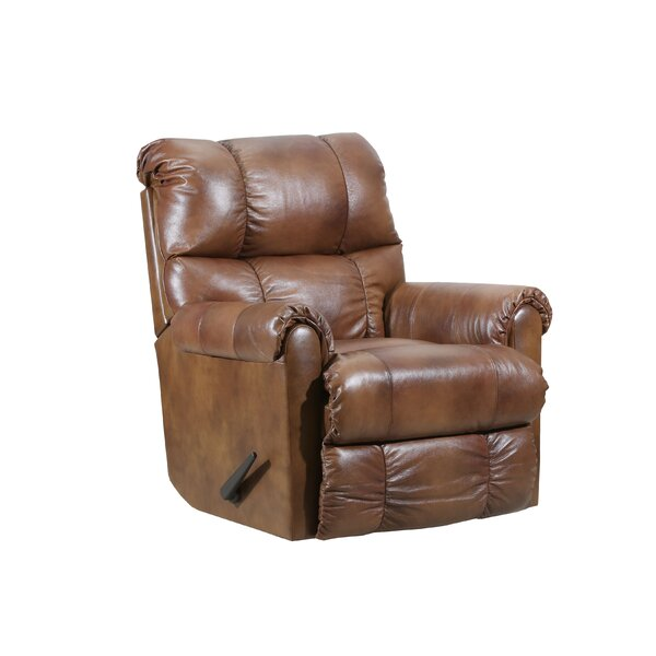 Crisscross Leather Recliner by Lane Furniture