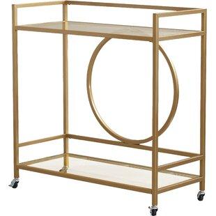 broadridge bar cart - Rose Gold Bar Cart