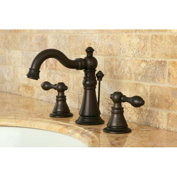 American Classic Widespread Bathroom Faucet with D
