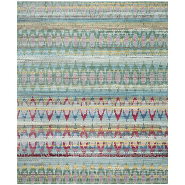 Doline Light Blue Area Rug by Mistana