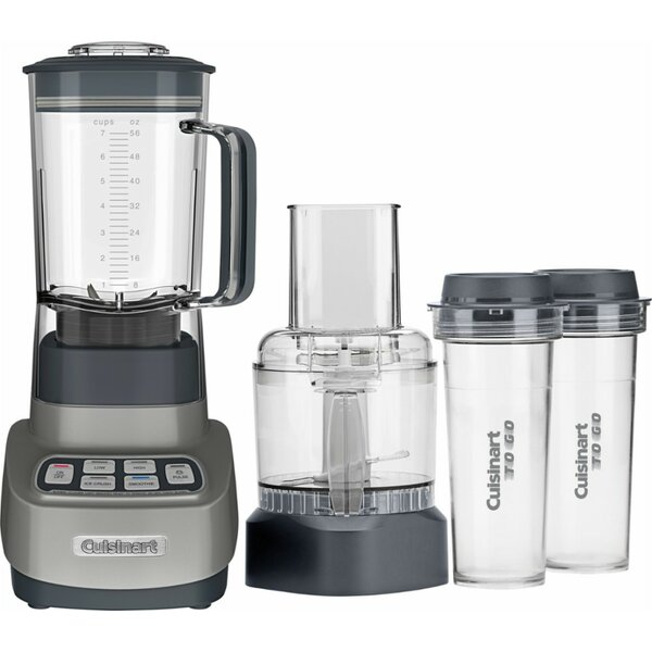 Velocity Ultra Trio 1 HP Blender/Food Processor with Travel Cups by Cuisinart
