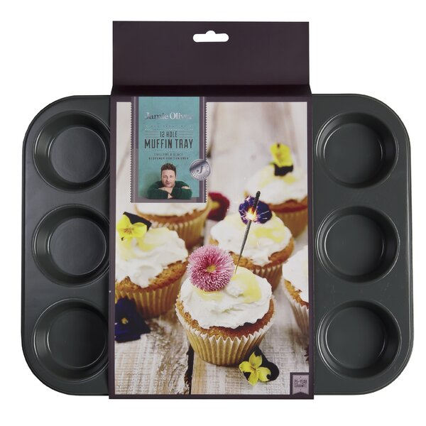 Jamie Oliver Acacia Muffin Pan by Jamie Oliver