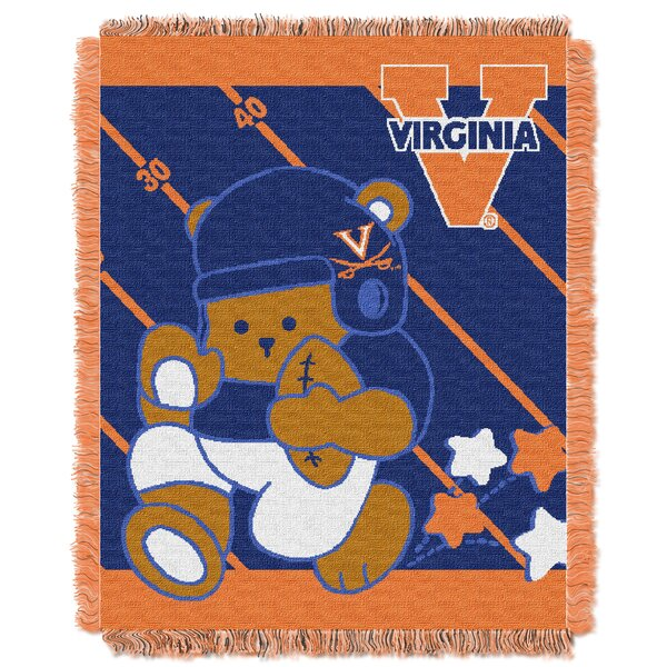 Collegiate Virginia Baby Blanket by Northwest Co.