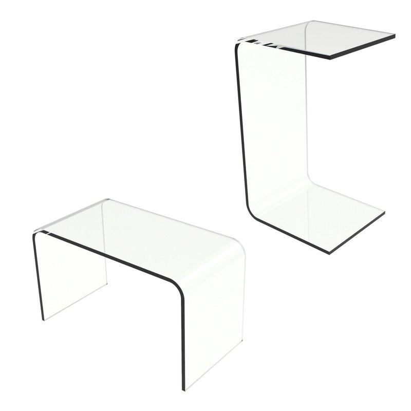 Rudisill Acrylic End Table