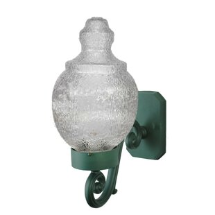 Order Pederson 1-Light Outdoor Sconce By Alcott Hill