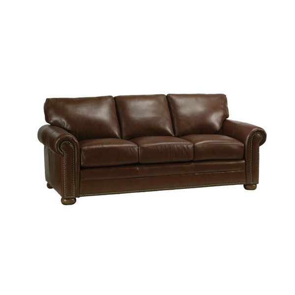 Savannah Leather Sleeper Sofa by Omnia Leather