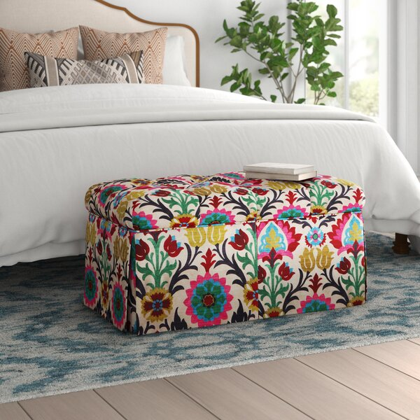 Dillen Upholstered Storage Bench by Mistana