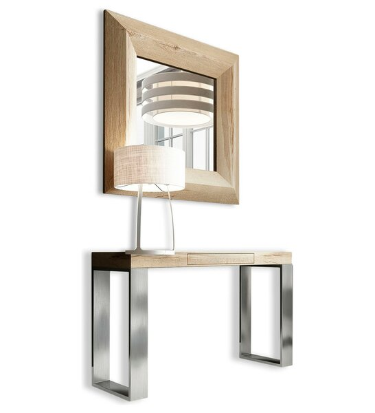 Clemens 31.5 Console Table and Mirror Set